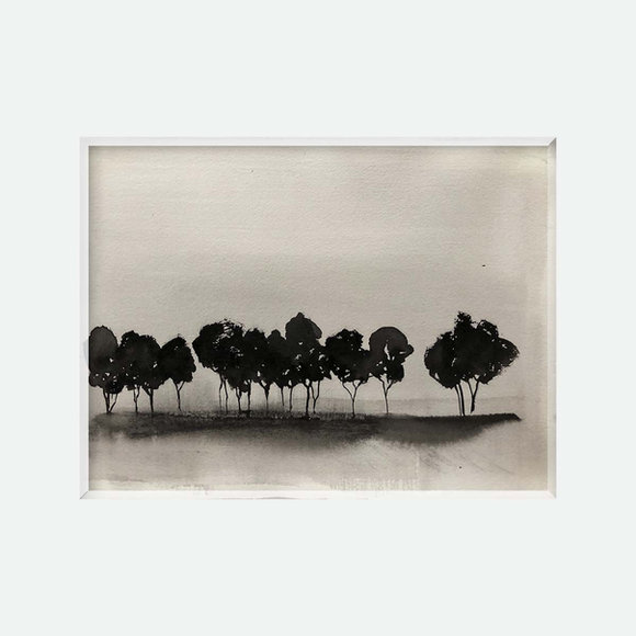 arbres noirs