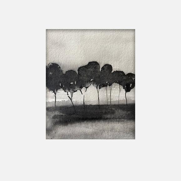45X35cm - Forêt