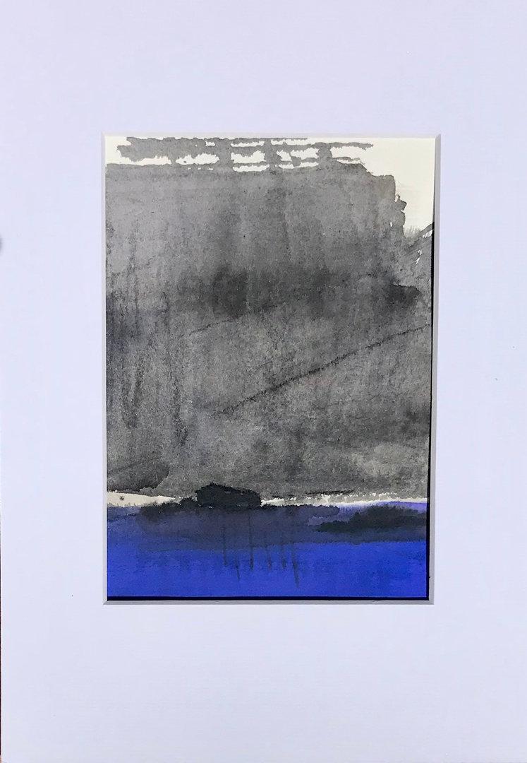 Entre gris et bleu