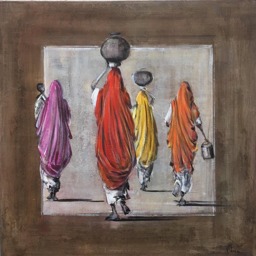 100X100cm -saris