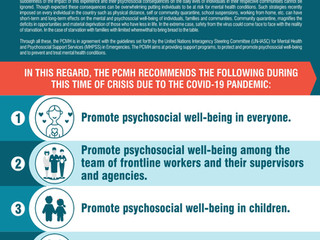 Mental Health and Psychosocial Support during COVID-19 Outbreak