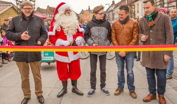 Opening fietsstraat