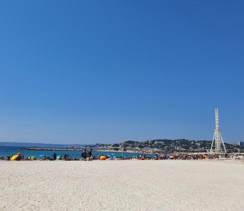 Gay-friendly beach