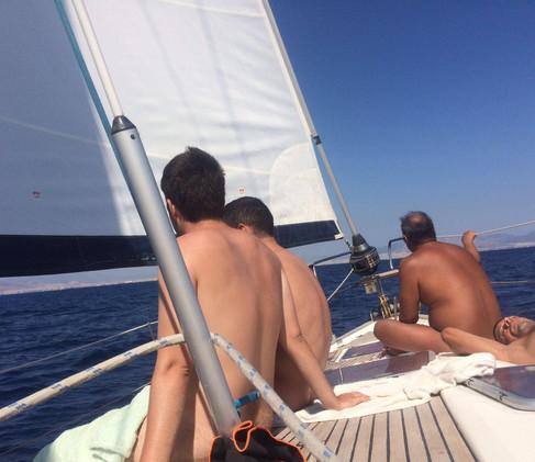 Gay Yacht Holiday!