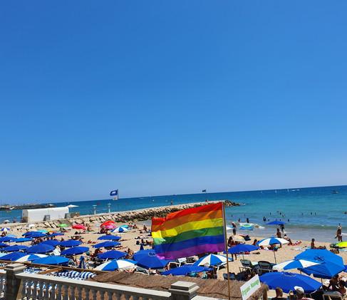 LGBTQ+ Beach!