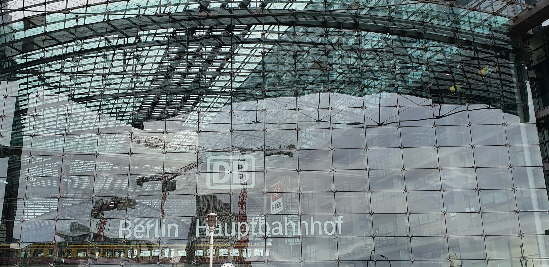 Berlin Main Station!
