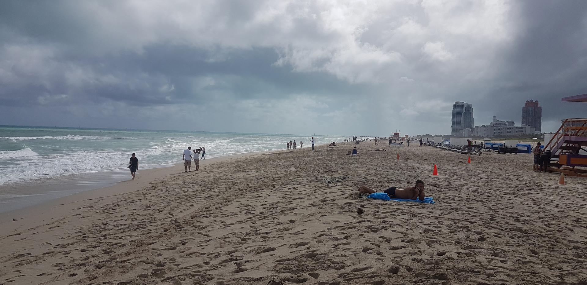 Miami beach!