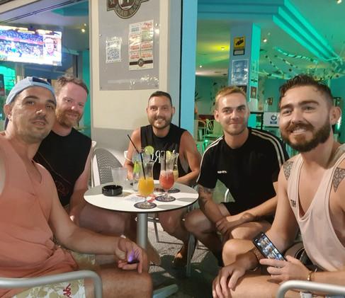 Nightlife in Sitges!