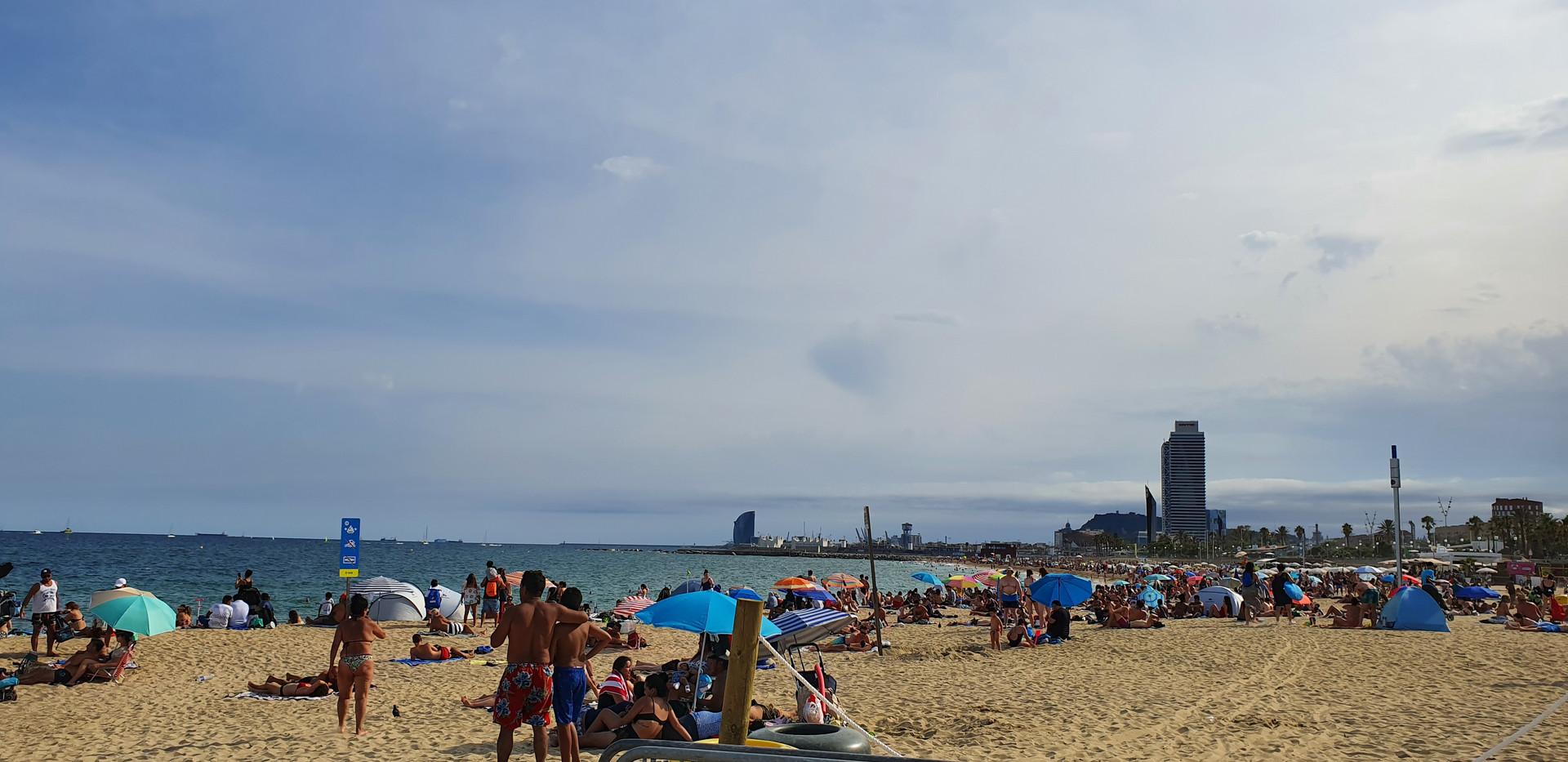 Beach in Barcelona