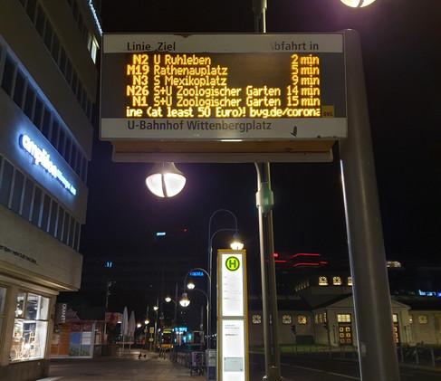Night buses !