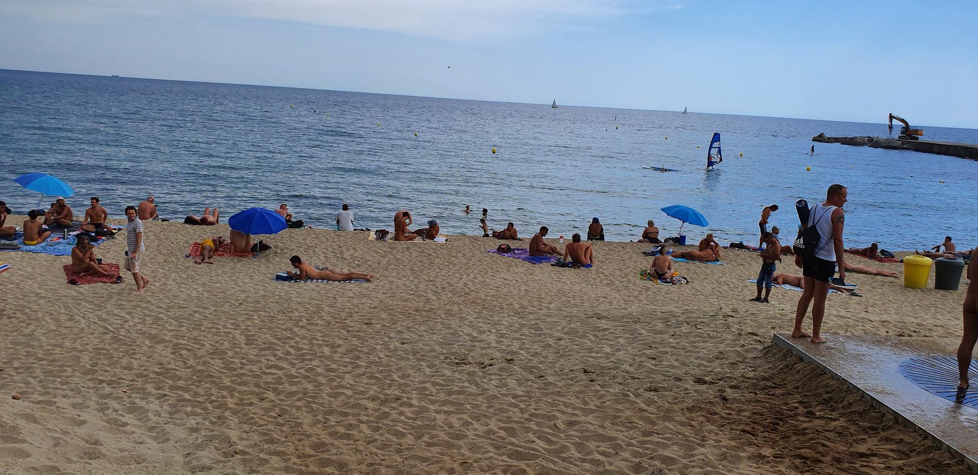 Gay beach!