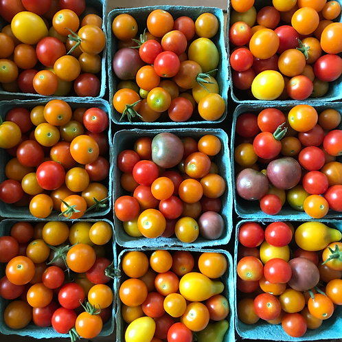 Cherry tomatoes by the pint