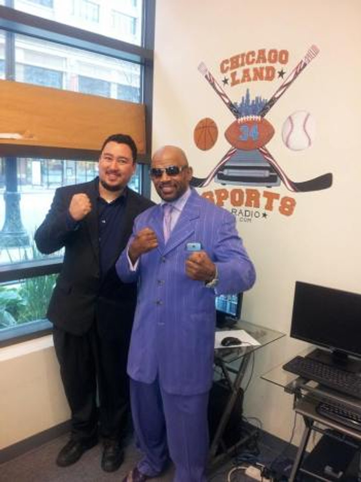 Fightlete Report Co-Hosts myself with MMA Legend Shonie Carter!