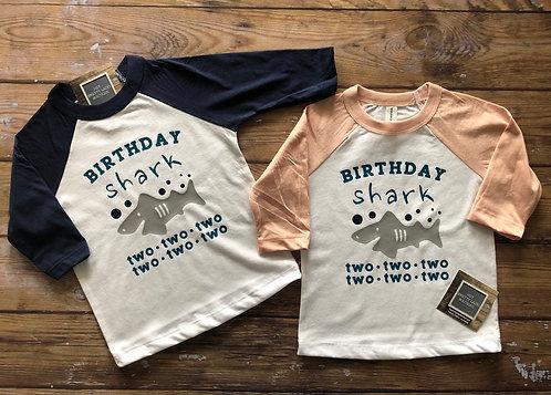 Birthday Shark Tee