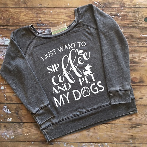 Coffee & Dogs Sweatshirt