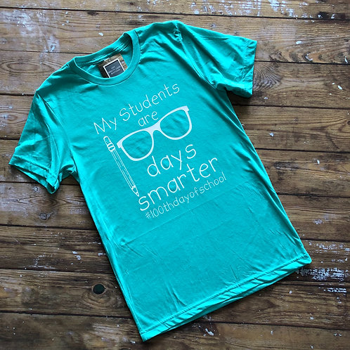 100th Day of School Teacher Tee