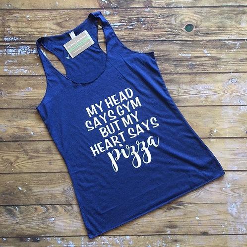 Mind Says Gym Tank