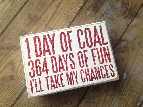 364 Days of Fun - Box Sign