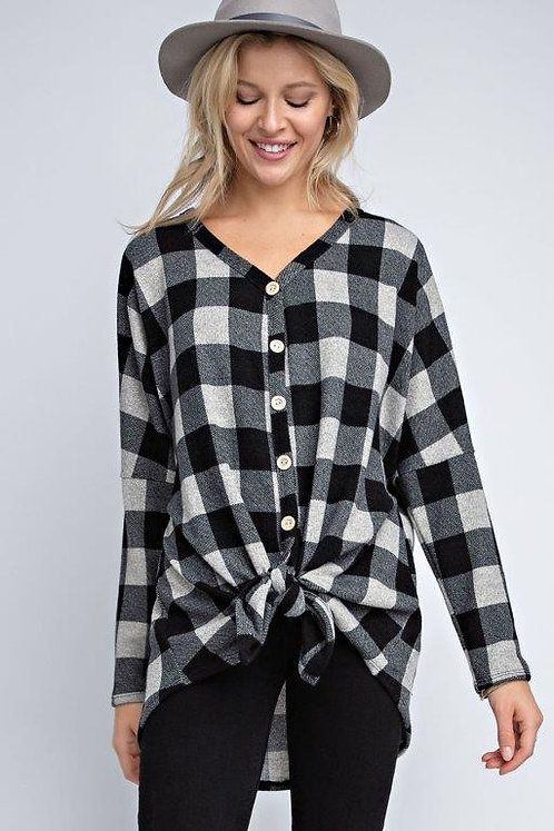 Tied to Winter Top