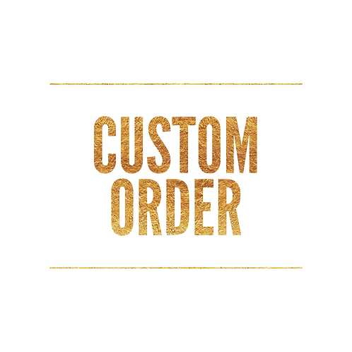 Pay for a Custom Order