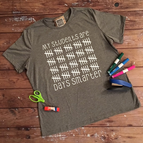 100th Day Teacher Tee