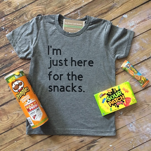 Here for the Snacks Tee