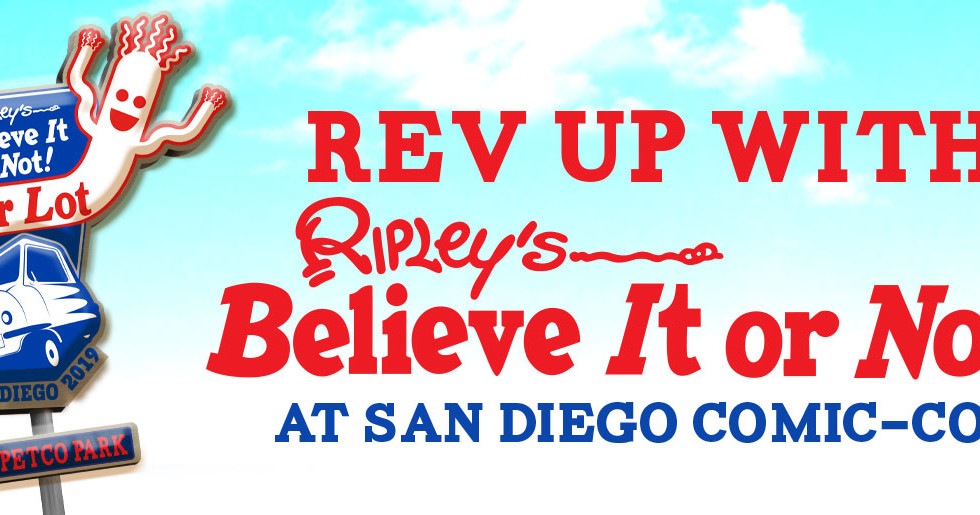 San Diego Comic Con 2019 x Ripley's Believe It or Not
