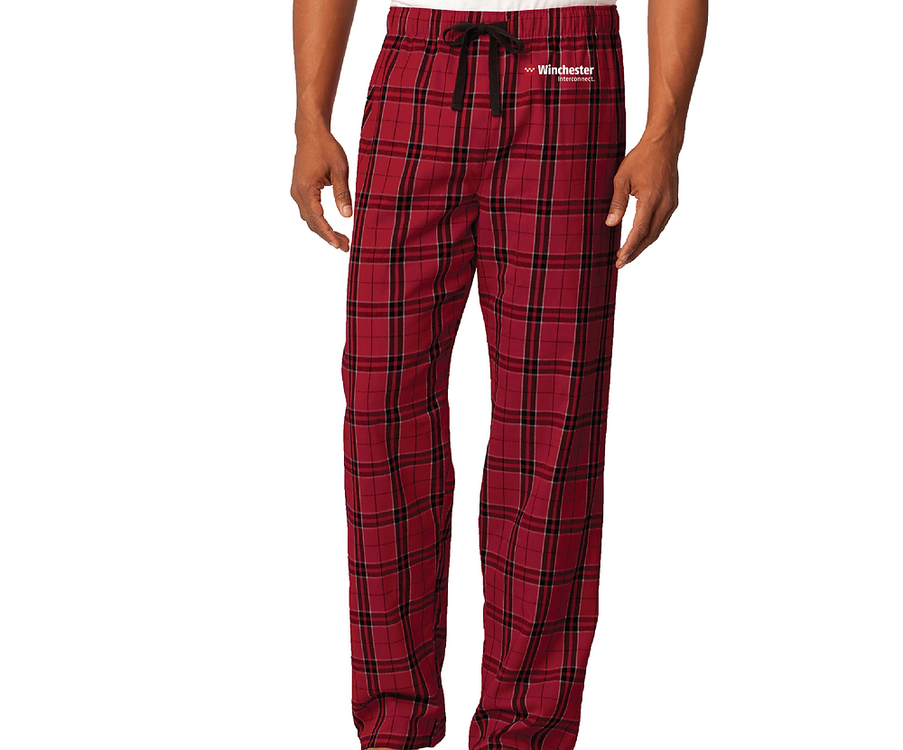 Keep your clients or employees toasty in custom screen printed or embroidered pajama bottoms. This soft flannel consists of 100% ring-spun combed cotton. Multiple colors are available in women's and men's sizes.