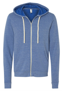 Bella + Canvas Sponge Fleece Full Zip Hoody