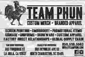 Team Phun San Diego, CA & Charleston, SC Showrooms