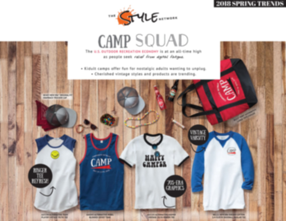 Camp Squad Assortment
