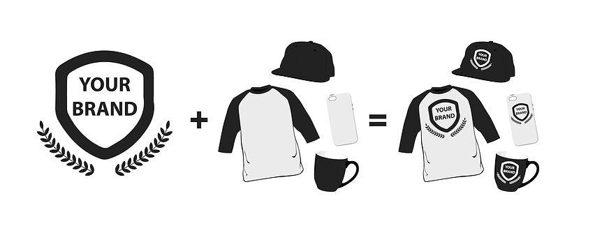 Custom branding, custom shirt, custom merchandise