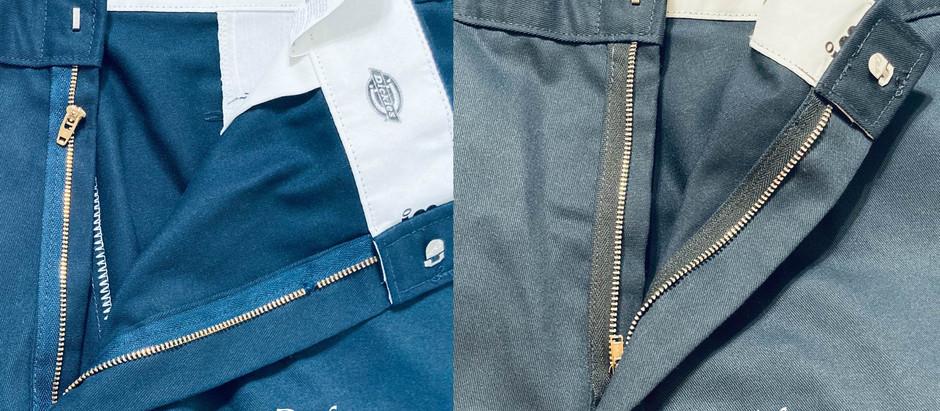 Replace a Zipper - Work Pants -Dickies
