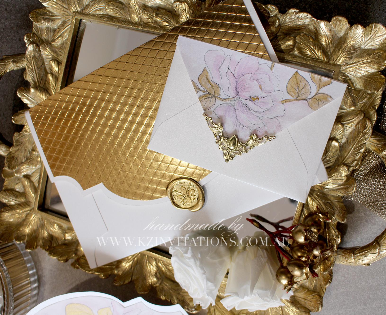 floral empire envelopes