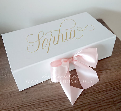 Pink Ribbon Gift Box