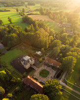 Golden light at Castle Warmelo