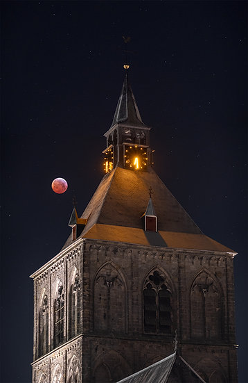 Blood Moon over Oldenzaal - LIMITED
