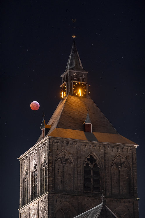 Blood Moon over Oldenzaal
