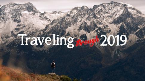 Travelling through 2019