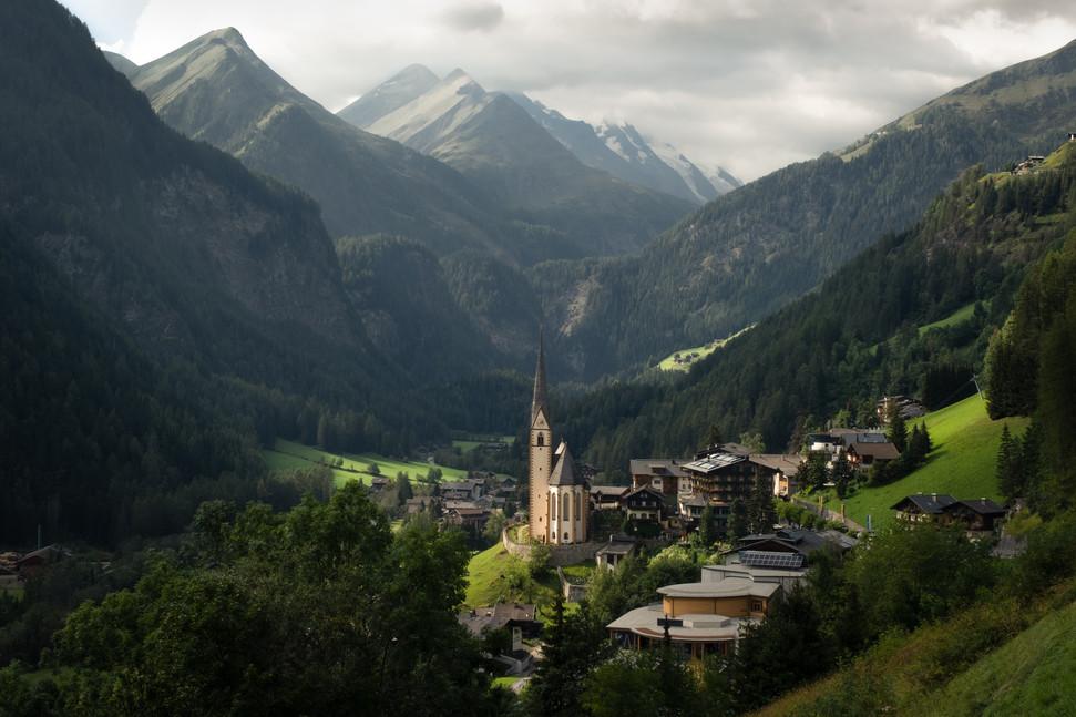 Postcard fom the Austrian Alps