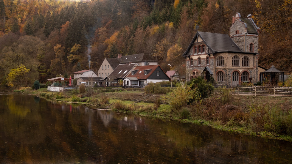 Along the shores of the Bode river