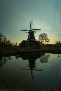 Pelmolen sunset