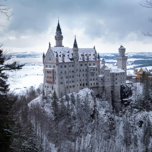 Alpensprookjes in een winters Beieren