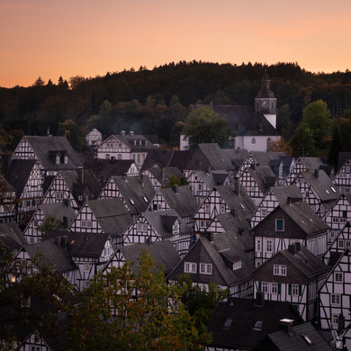 Checker town, Germany