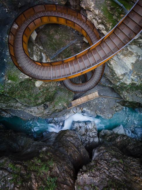 The gorge, Austria