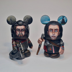 Baze Malbus and Chirrut Imme