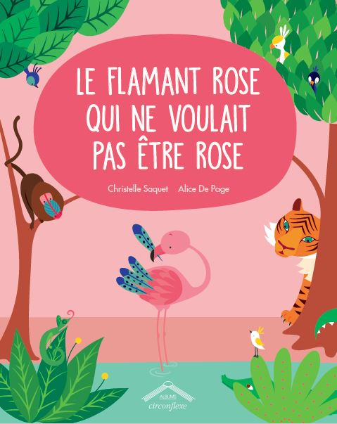couverture flamant