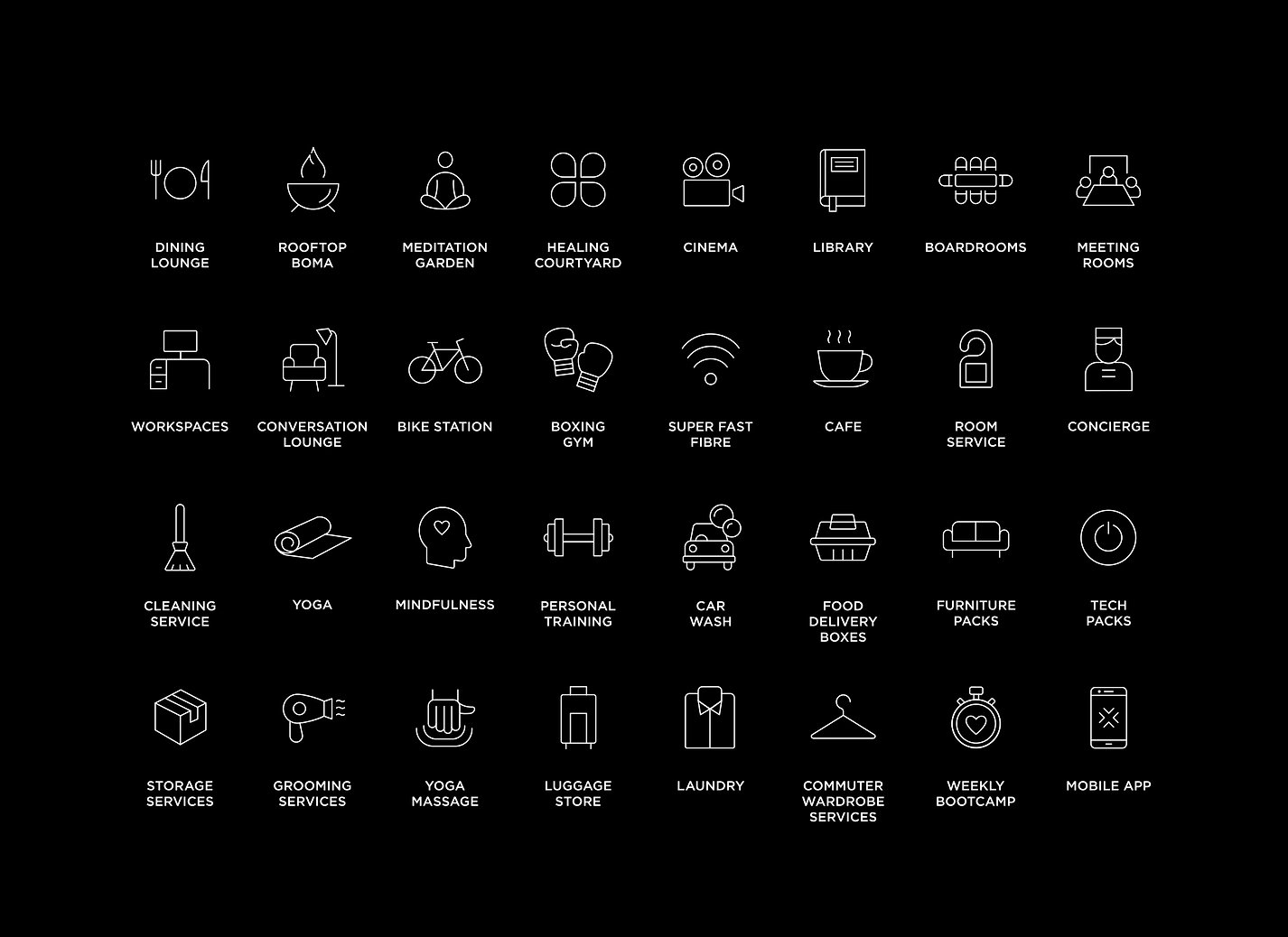 Blackbrick Facilities & services icons.j