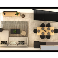 Black Brick Floor Plan Unit 4-030 Lower