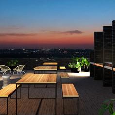 Black Brick Rooftop [High Resolution].jp